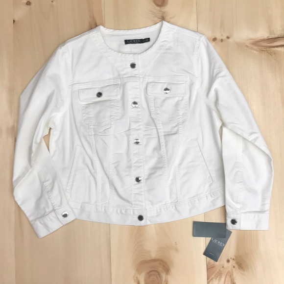 b8ba8f9ca2e Lauren Ralph Lauren Denem Jacket plus size natural